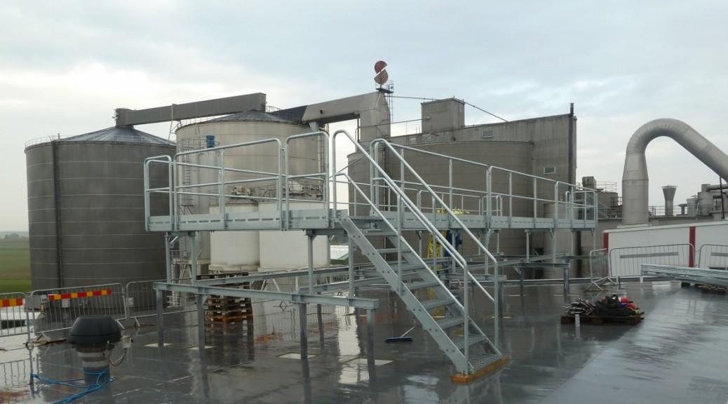 Plattformar från Sandbergs Smide & Mekaniska AB